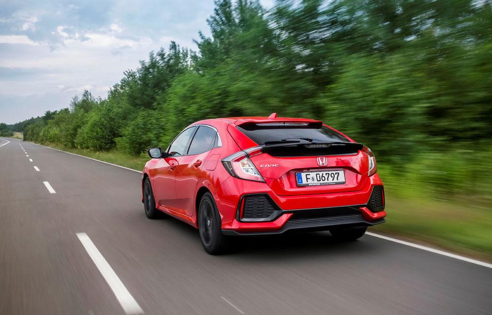 Primul diesel din gama noului Honda Civic se lansează anul viitor: 1.6 litri și consum de 3.7 litri la 100 de km - Poza 5
