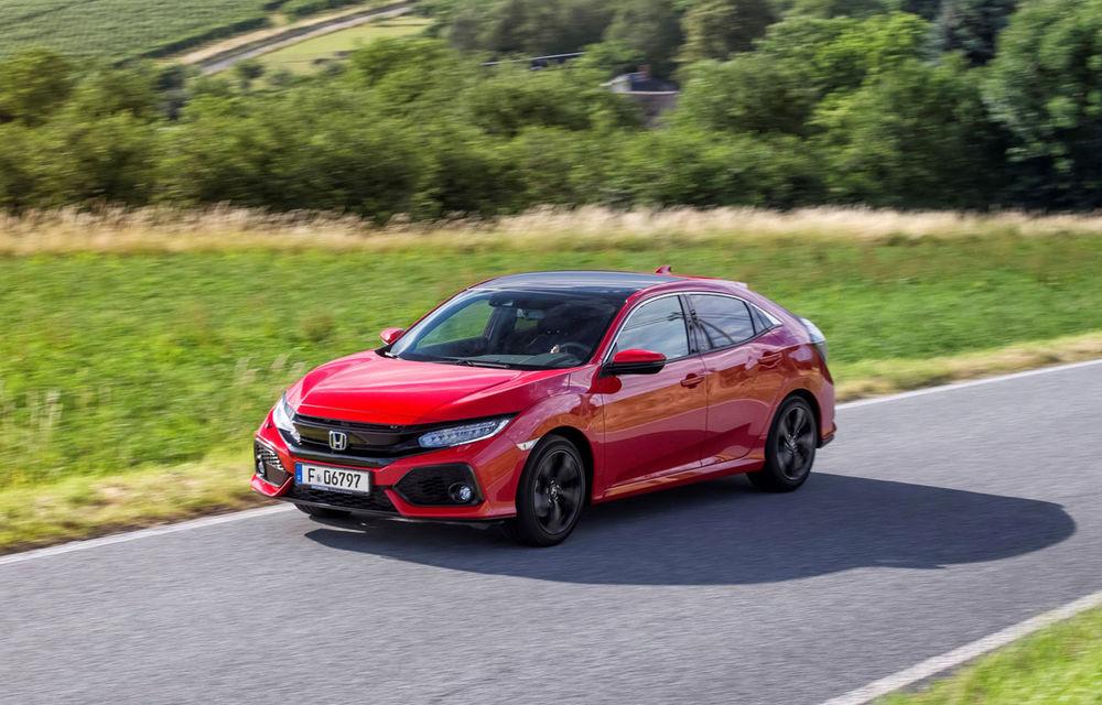Primul diesel din gama noului Honda Civic se lansează anul viitor: 1.6 litri și consum de 3.7 litri la 100 de km - Poza 1