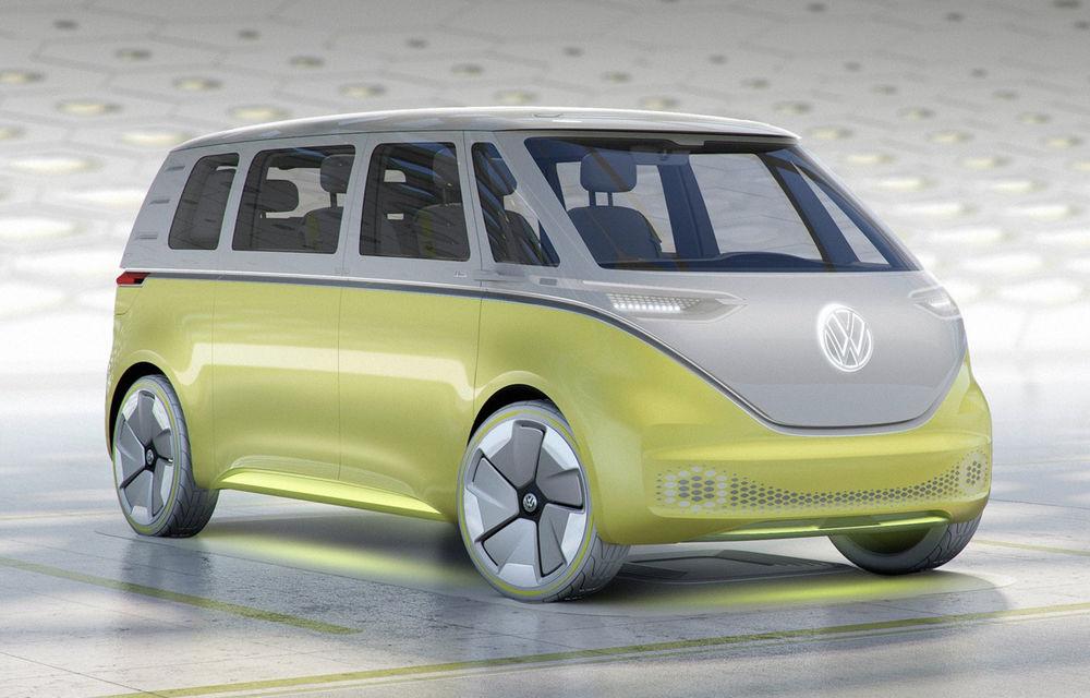 Volkswagen ID Buzz intră în producție în 2022: Microbus-ul modern va fi electric și va avea funcții autonome - Poza 1