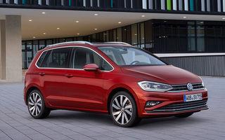 Volkswagen Golf Sportsvan facelift: monovolumul german primește motoare și tehnologii noi