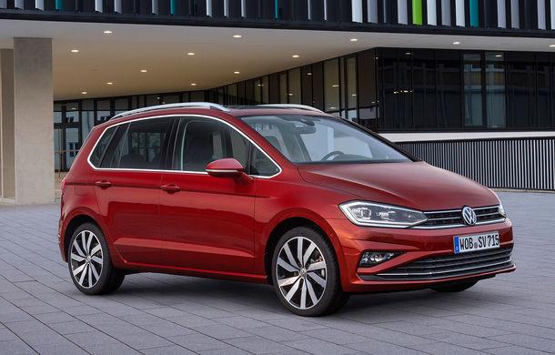 Volkswagen Golf Sportsvan facelift: monovolumul german primește motoare și tehnologii noi - Poza 1