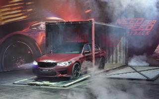Starul jocurilor video: noul BMW M5 va putea fi pilotat în viitorul Need for Speed Payback