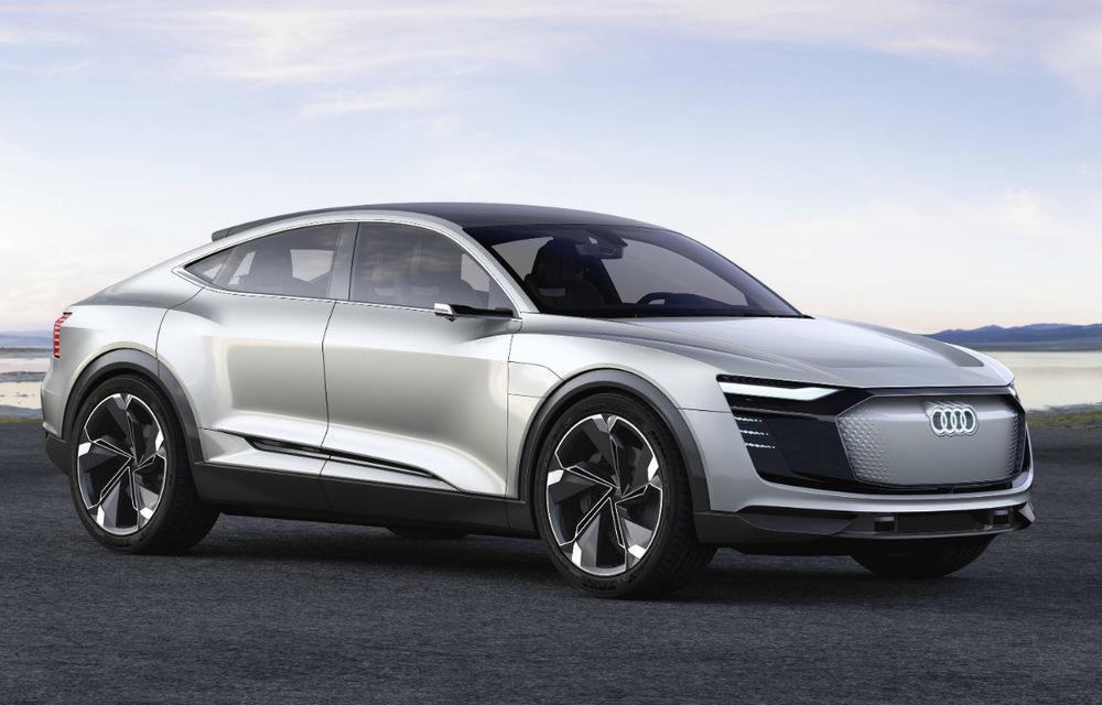 Autonomie mai mare prin energie solară: mașinile electrice Audi vor integra panouri solare pe plafon - Poza 1