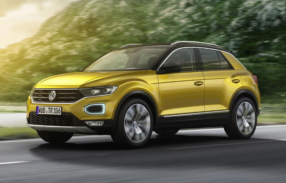 Volkswagen T-Roc: fratele mai mic al lui Tiguan a fost prezentat oficial - Poza 3