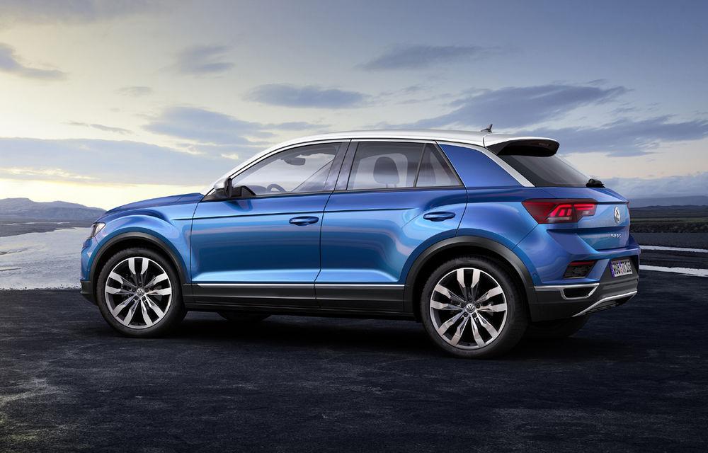 Volkswagen T-Roc: fratele mai mic al lui Tiguan a fost prezentat oficial - Poza 14