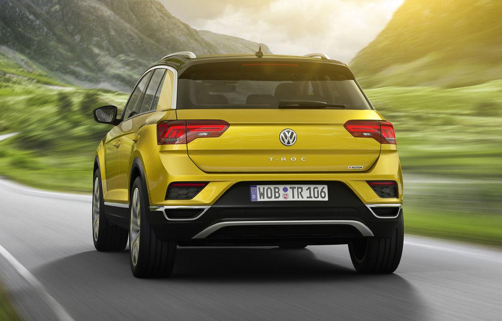 Volkswagen T-Roc: fratele mai mic al lui Tiguan a fost prezentat oficial - Poza 4