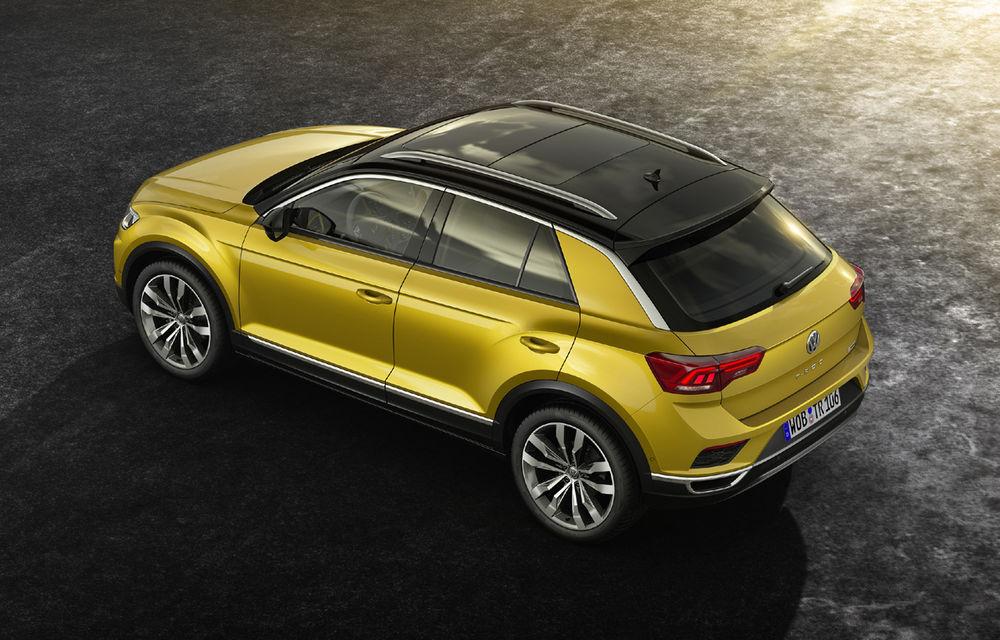 Volkswagen T-Roc: fratele mai mic al lui Tiguan a fost prezentat oficial - Poza 8