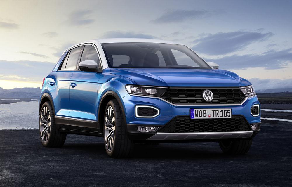 Volkswagen T-Roc: fratele mai mic al lui Tiguan a fost prezentat oficial - Poza 13