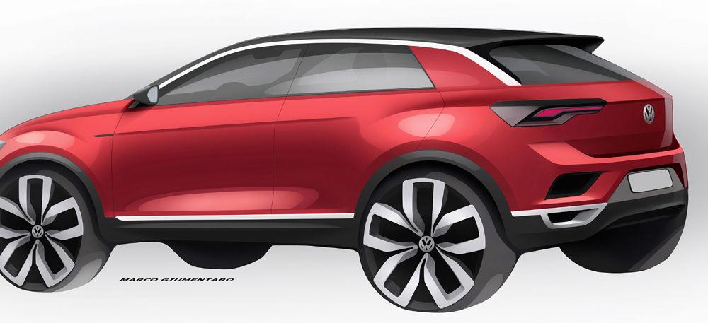 Volkswagen T-Roc: fratele mai mic al lui Tiguan a fost prezentat oficial - Poza 33