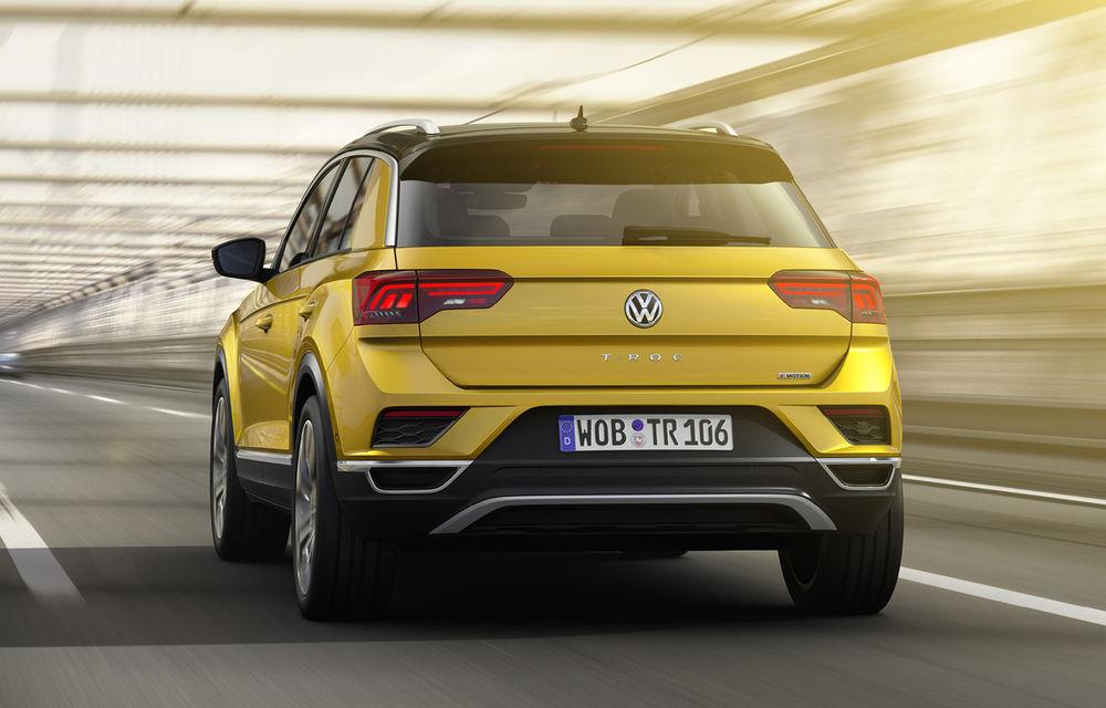 Volkswagen T-Roc: fratele mai mic al lui Tiguan a fost prezentat oficial - Poza 9