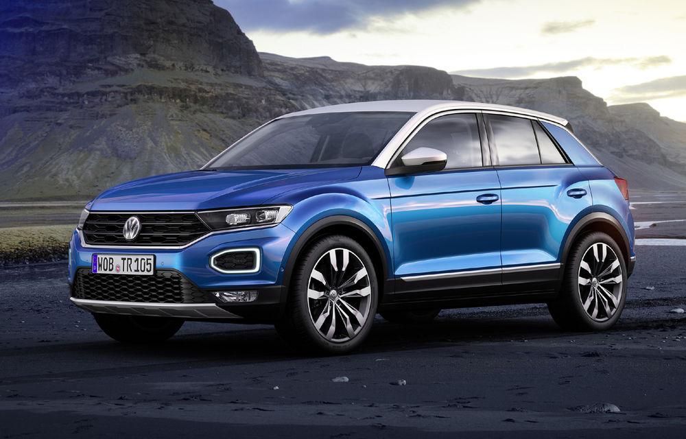 Volkswagen T-Roc: fratele mai mic al lui Tiguan a fost prezentat oficial - Poza 15