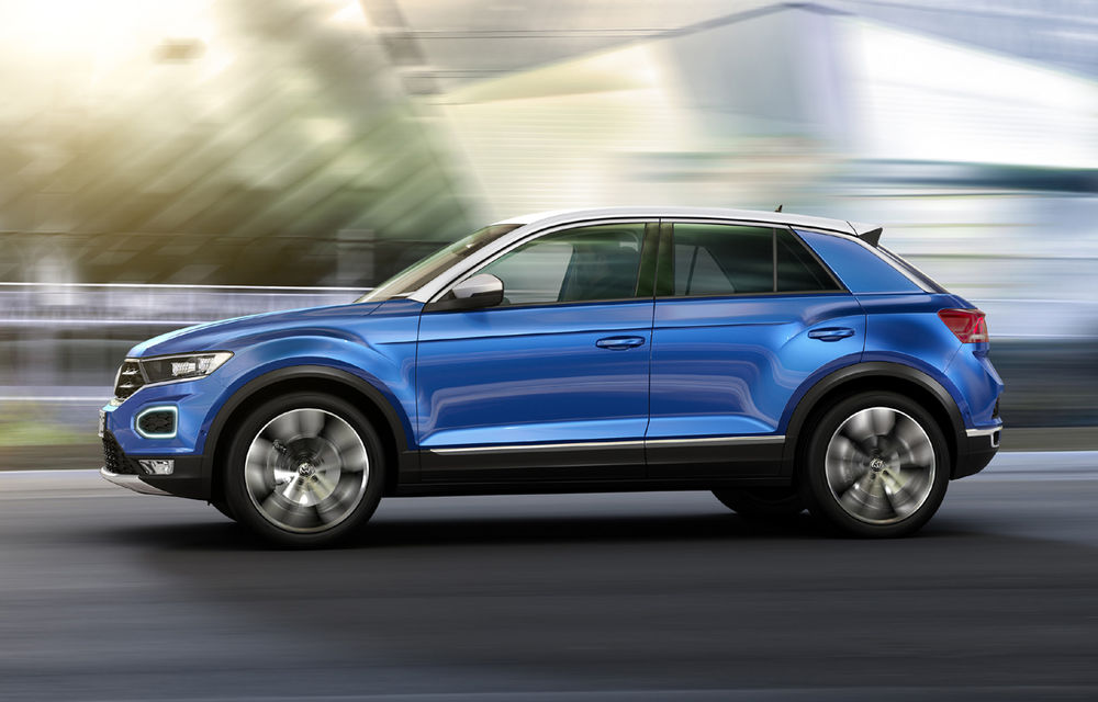 Volkswagen T-Roc: fratele mai mic al lui Tiguan a fost prezentat oficial - Poza 20