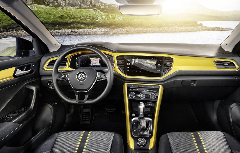 Volkswagen T-Roc: fratele mai mic al lui Tiguan a fost prezentat oficial - Poza 12