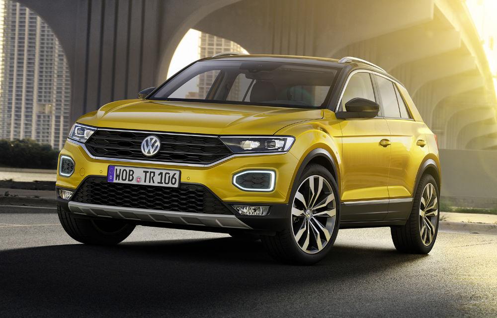 Volkswagen T-Roc: fratele mai mic al lui Tiguan a fost prezentat oficial - Poza 1