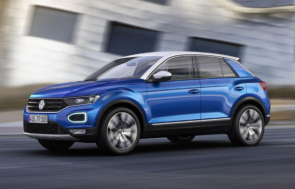 Volkswagen T-Roc: fratele mai mic al lui Tiguan a fost prezentat oficial - Poza 19