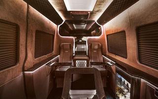 Cea mai ieftină alternativă la un Rolls Royce sau Bentley: un Mercedes Sprinter cu interior de lux