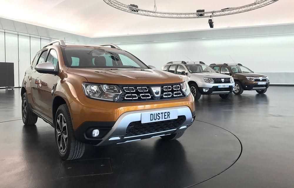 Strict Secret: noul Dacia Duster s-a dezbrăcat de secrete la Paris în fața Automarket - Poza 1