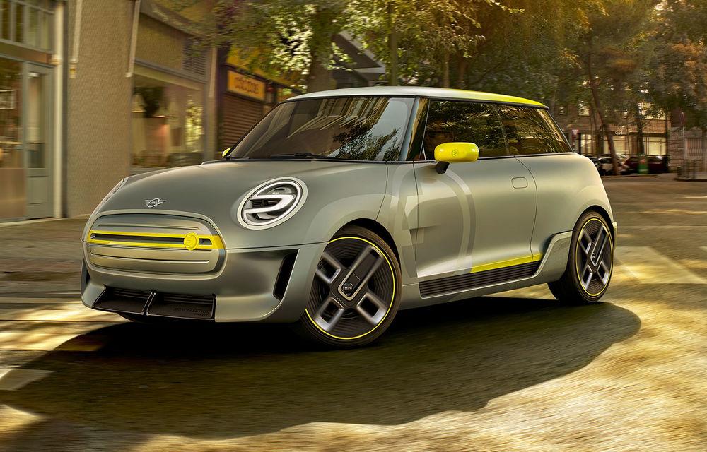 Mini Electric Concept anticipează lansarea primului Mini electric de serie în 2019 - Poza 1
