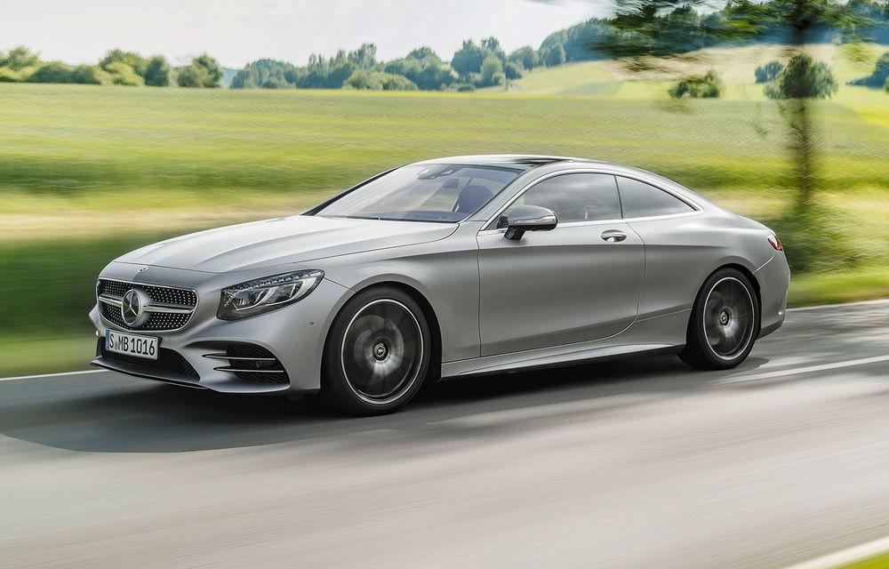 Opulența are o nouă definiție: Mercedes-Benz prezintă Clasa S Coupe și Clasa S Cabrio facelift - Poza 1