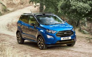 Noul Ford EcoSport este aici: SUV-ul construit la Craiova are un nou motor diesel de 1.5 litri și 125 CP, tracțiune integrală și echipare ST-Line