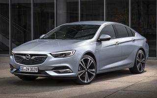 Opel Insignia primește un nou motor: unitatea diesel biturbo de 2.0 litri are 210 CP și un cuplu de 480 Nm
