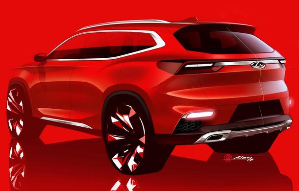 Primele detalii despre SUV-ul care va relansa marca Chery în Europa: 3 versiuni de propulsii electrificate și  ecran de 10 inch - Poza 1