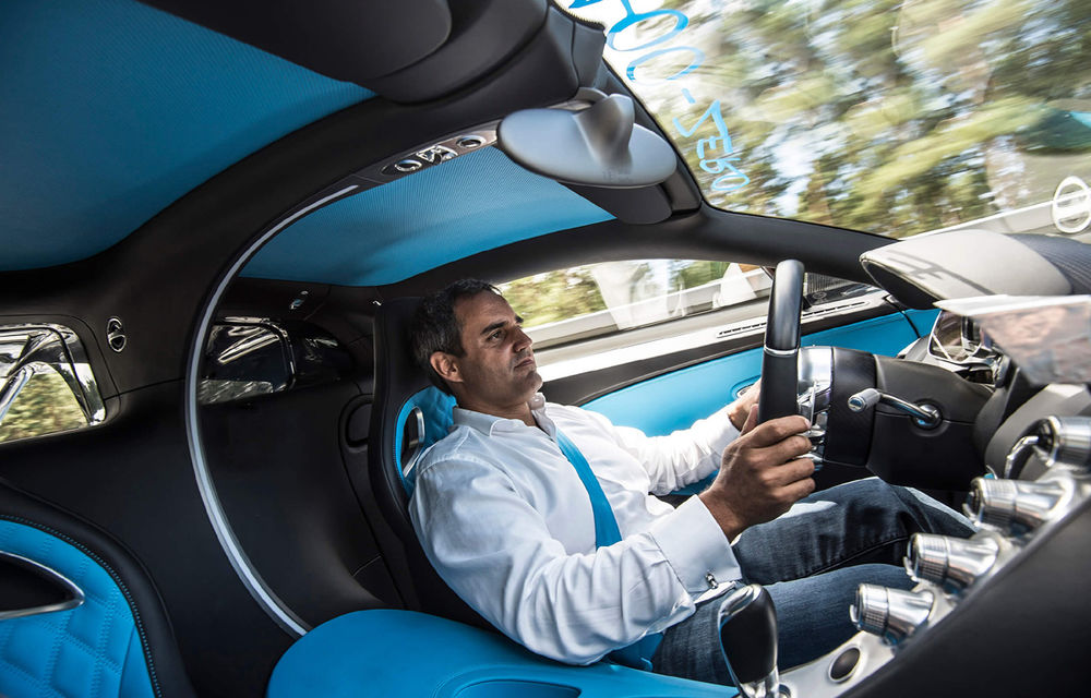 Bugatti Chiron a reușit o performanță impresionantă: 0-400-0 km/h în doar 42 de secunde (UPDATE VIDEO) - Poza 1