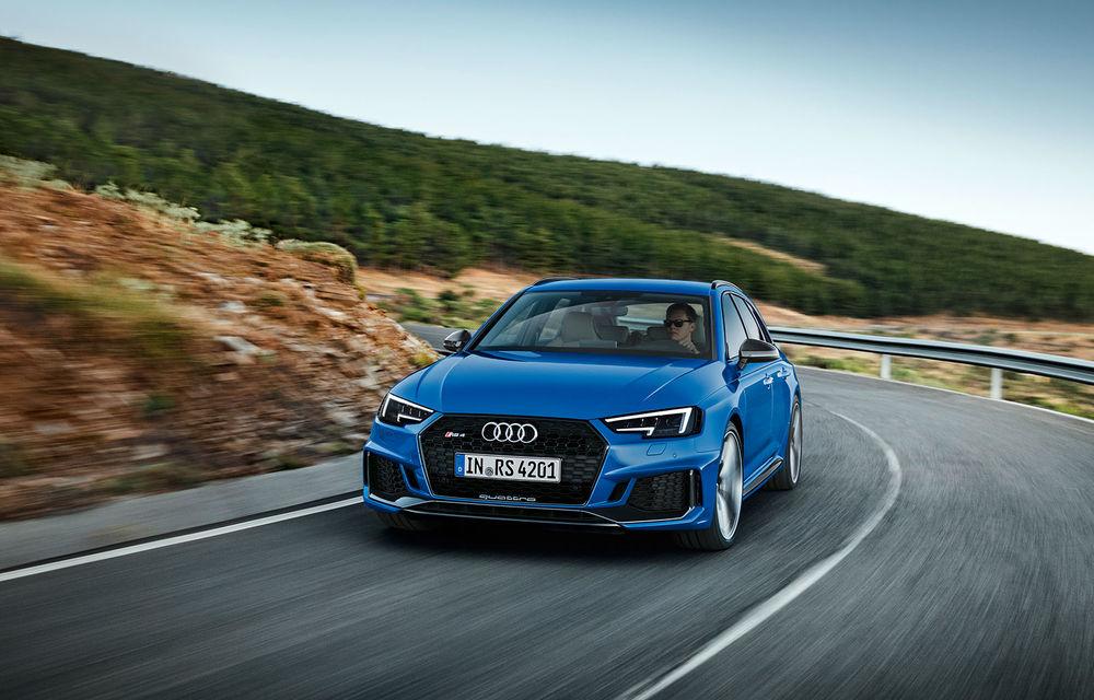 Audi lansează RS4 Avant: break-ul are un V6 biturbo de 450 de cai și face 0-100 km/h în 4.1 secunde - Poza 1
