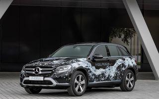 Mercedes GLC F-Cell: primul hibrid din lume alimentat cu hidrogen care are și baterie cu încărcare la priză