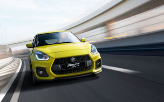 Suzuki a lansat noua generație Swift Sport: 970 de kilograme și motor de 140 de cai