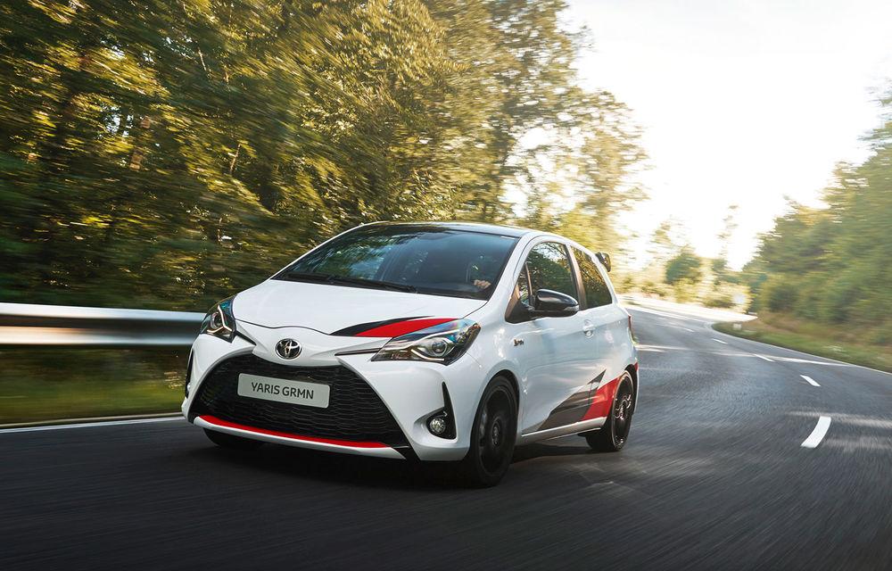 Toyota Yaris GRMN: hot hatch-ul nipon are 212 cai putere și face 0-100 km/h în 6.3 secunde - Poza 1