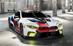 BMW M8 GTE a fost prezentat la Frankfurt: nemții pun ochii pe Campionatul Mondial de Anduranță