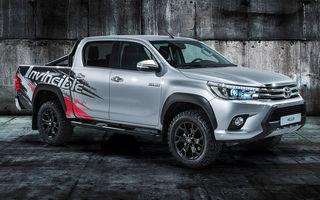 Toyota Hilux Invincible 50: ediție aniversară pentru pick-upul nipon
