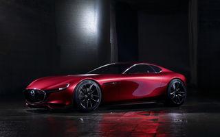 Mazda nu renunță la ideea unei sportive cu motor rotativ: japonezii lansează o versiune revizuită a lui RX Vision în cadrul Salonului Auto de la Tokyo