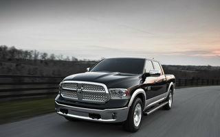 Risc de incendiu: Fiat-Chrysler recheamă în service 494.000 de pick-up-uri din cauza unei probleme la pompa de apă