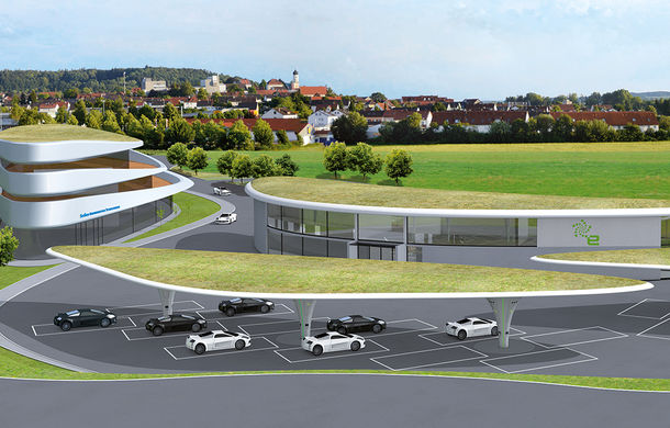 O companie germană deschide între Munchen și Stuttgart cel mai mare complex de stații electrice din lume: 144 de puncte de încărcare rapide și ultra-rapide - Poza 3