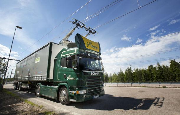 Infrastructura viitorului: Nemții încep să își construiască prima autostradă pentru camioane electrice - Poza 1