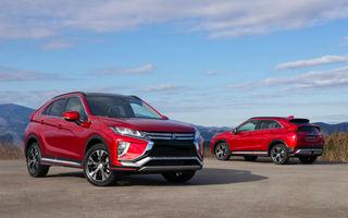 Un exemplar de pre-producție Mitsubishi Eclipse Cross va fi expus în România