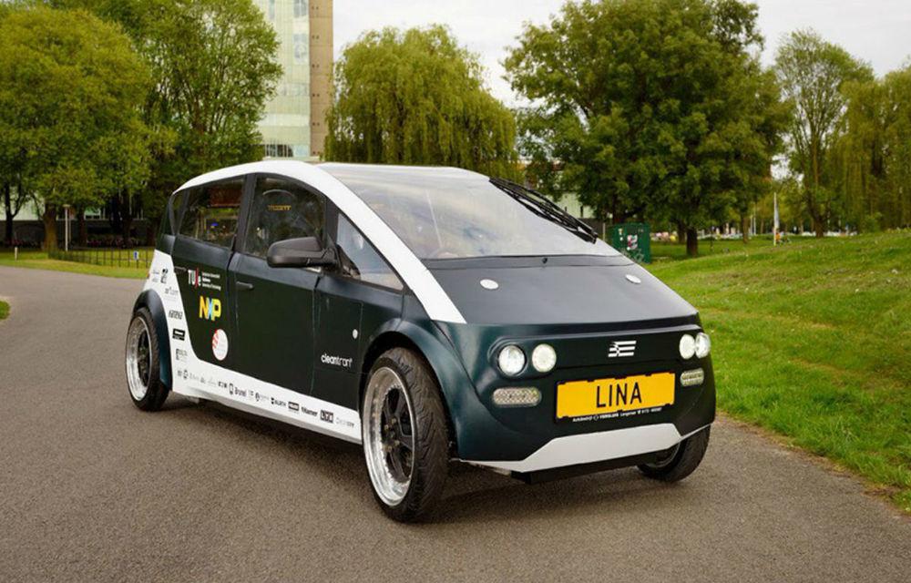 Mașina biodegradabilă: studenții olandezi au construit o mașină electrică folosind exclusiv materiale ecologice - Poza 1