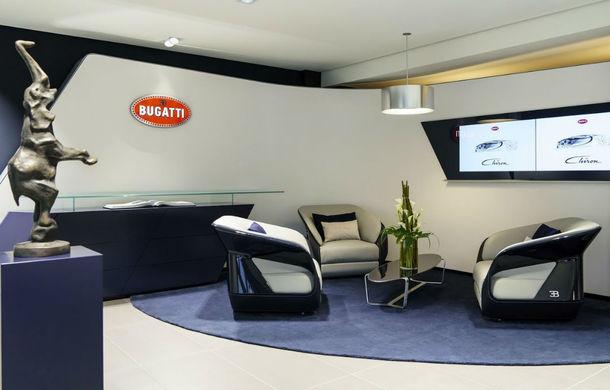Chiron are mare succes la vânzări: Bugatti inaugurează în Germania primul său showroom la standarde noi - Poza 6
