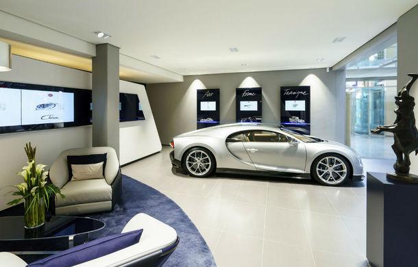 Chiron are mare succes la vânzări: Bugatti inaugurează în Germania primul său showroom la standarde noi - Poza 5