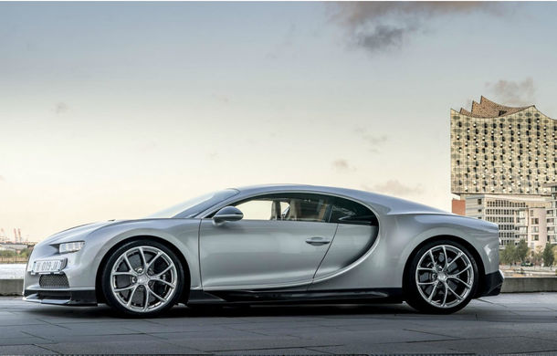 Chiron are mare succes la vânzări: Bugatti inaugurează în Germania primul său showroom la standarde noi - Poza 3