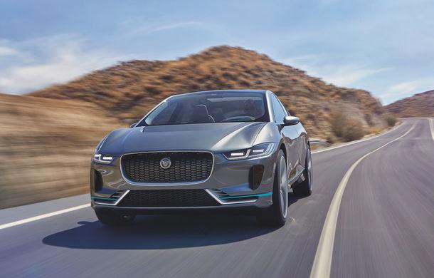 Succes pentru britanici: Jaguar a primit 25.000 de comenzi pentru SUV-ul electric I-Pace - Poza 1