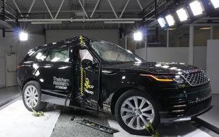 Siguranță în off-road: Range Rover Velar a primit 5 stele la testele Euro NCAP