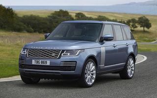 Range Rover facelift: apare o versiune hibridă plug-in, iar interiorul se inspiră masiv de la Velar
