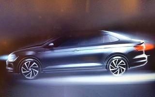 Volkswagen Virtus: rivalul de departe al lui Logan se lansează exclusiv în America de Sud