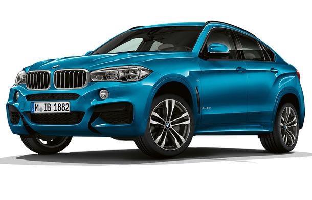 Ediții speciale pentru BMW X5 și BMW X6: un plus de sportivitate - Poza 2