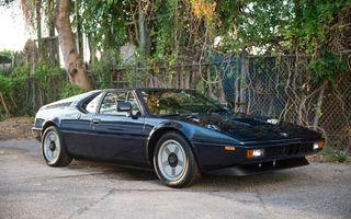 Legendă vie: un BMW M1 din 1981 cu 13.000 de kilometri la bord costă 658.000 de dolari pe eBay