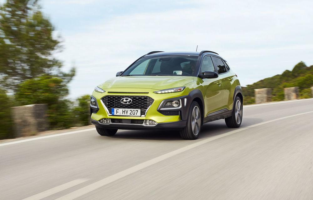 Hyundai Kona: Versiunea electrică a SUV-ului sud-coreean vine în 2018 și va avea o autonomie de aproape 400 de kilometri - Poza 1
