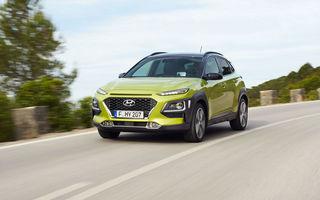 Hyundai Kona: Versiunea electrică a SUV-ului sud-coreean vine în 2018 și va avea o autonomie de aproape 400 de kilometri